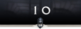 Number 10 knocker 276px