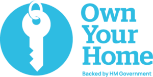 Own Your Home logo with HM Government strapline